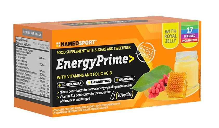 Żel NAMEDSPORT Energy Prime 10x10ml
