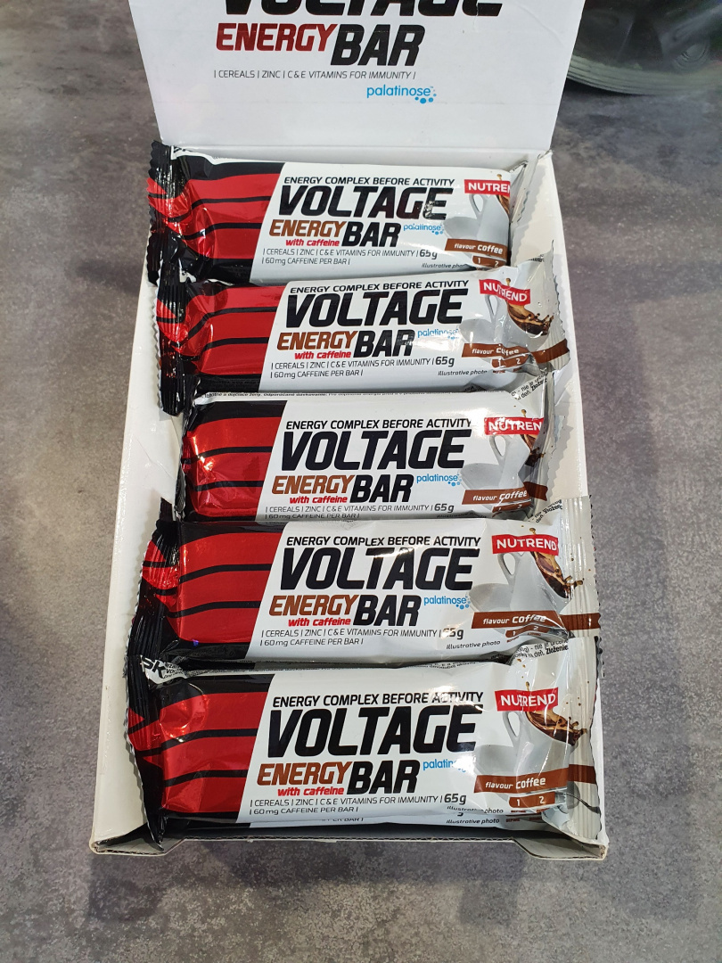 NUTREND Voltage Energy Bar coffee